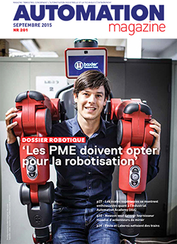Automation Magazine septembre 2015