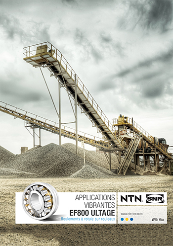 Brochure PDF NTN SNR Application vibrantes EF800 Ultage