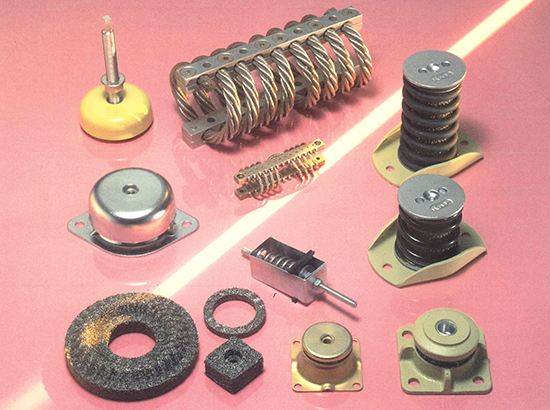 Suspensions métalliques VIBRACHOC - Groupe