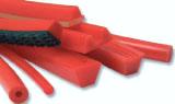 Courroie de transport polyuréthane rouge PU 75 A