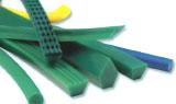 Courroie de transport polyuréthane vert jaune PU 85 A