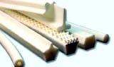 Courroie de transport polyuréthane blanc PU 90 A