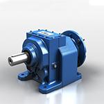 Coaxial reduction gears