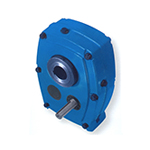 Tilting reduction gears
